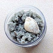 Скрабы ручной работы. Ярмарка Мастеров - ручная работа FIGURA скраб морской с водорослями. Handmade.
