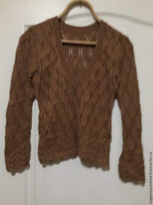 Кофты и свитера ручной работы. Ярмарка Мастеров - ручная работа. Купить Ажурный джемпер(спицы). Handmade. Разноцветный, ажурный джемпер