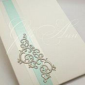 Свадебный салон ручной работы. Ярмарка Мастеров - ручная работа Папка для свидетельства о браке Mint Queen. Handmade.