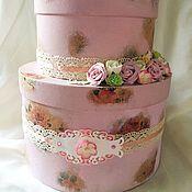 """Свадебный салон ручной работы. Ярмарка Мастеров - ручная работа Свадебная казна """"Розовое облако"""". Handmade."""