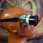 "Субкультуры handmade. Livemaster - original item Monocle Steampunk ""SCIENTIST CYBER-27"". Handmade."