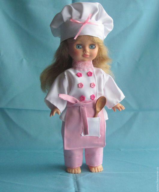 Одежда для кукол ручной работы. Ярмарка Мастеров - ручная работа. Купить Костюм поваренка на куклу. Handmade. Комбинированный, наряд для куклы