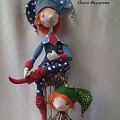 Куклы и пупсы ручной работы. Ярмарка Мастеров - ручная работа Петрушки . Куклы текстильные. Handmade.