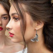 Украшения handmade. Livemaster - original item Mriya Earrings. Handmade.
