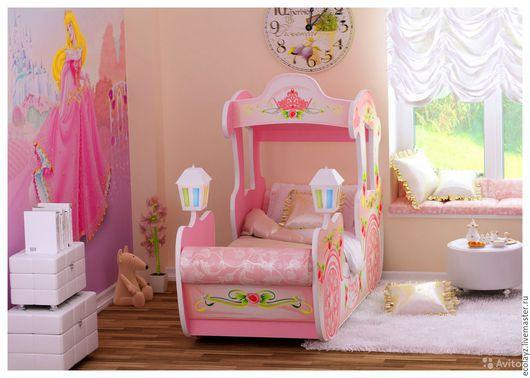 Мебель ручной работы. Ярмарка Мастеров - ручная работа. Купить Кроватка карета. Handmade. Кровать из дерева, детские кроватки