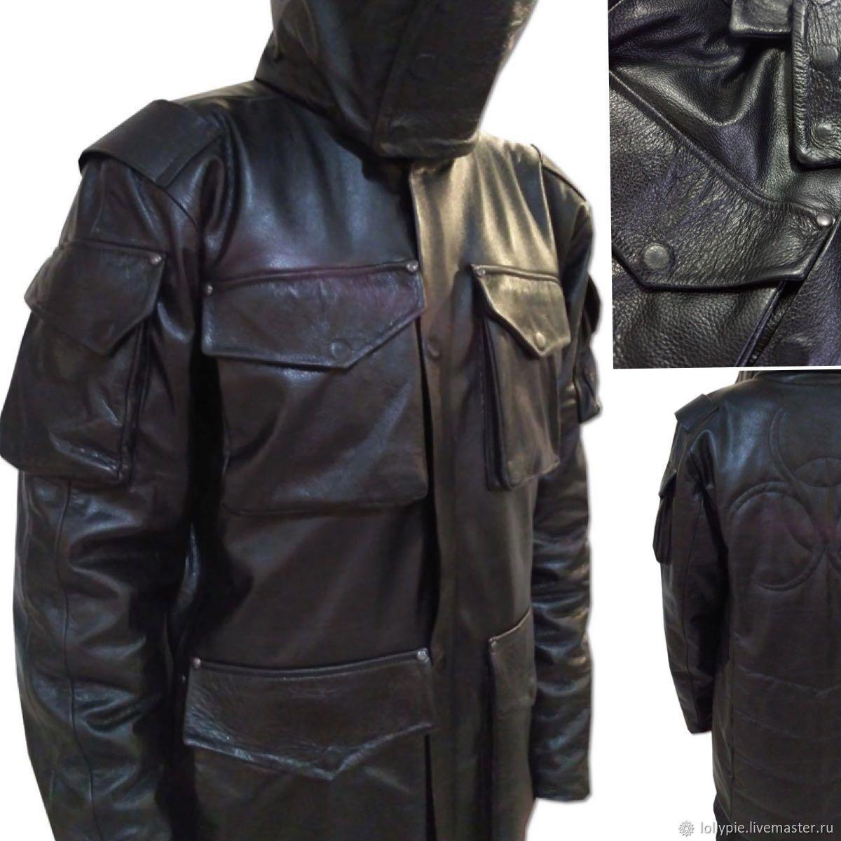 5ebac37f9789c Верхняя одежда ручной работы. Ярмарка Мастеров - ручная работа. Купить Кожаная  куртка зимняя на ...