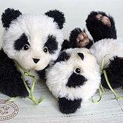 Куклы и игрушки ручной работы. Ярмарка Мастеров - ручная работа Малыши панды. Handmade.
