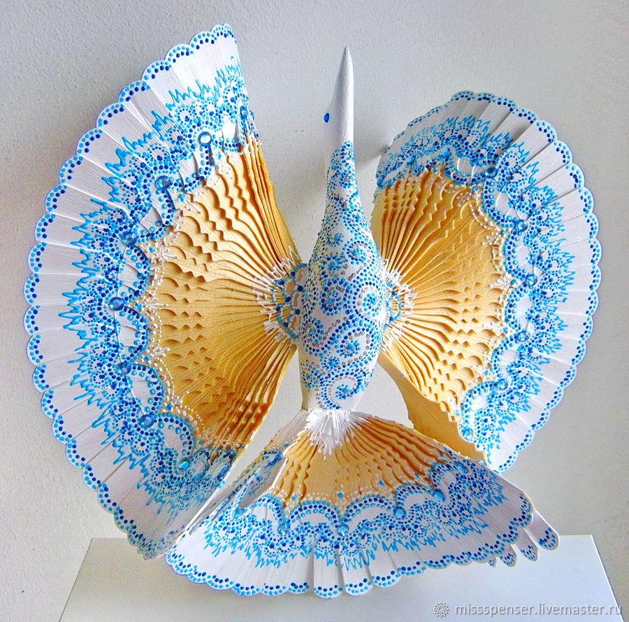 Подарки на свадьбу ручной работы. Ярмарка Мастеров - ручная работа. Купить Птица счастья для молодой семьи Голубая мечта. Handmade.