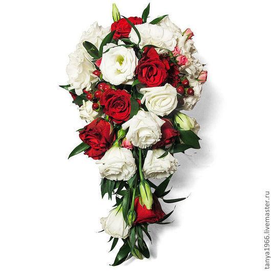 Свадебные цветы ручной работы. Ярмарка Мастеров - ручная работа. Купить Букет невесты капля № 3. Handmade.