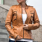 Одежда handmade. Livemaster - original item Jacket genuine leather (over 50 colors). Handmade.