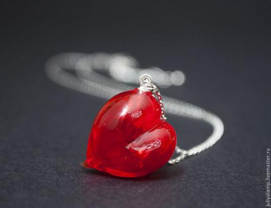 """Кулоны, подвески ручной работы. Ярмарка Мастеров - ручная работа. Купить Кулон сердечко """"Fire heart"""". Handmade. Сердечко, кулон"""