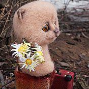 Куклы и игрушки ручной работы. Ярмарка Мастеров - ручная работа Котёнок мартовский, бездомный.... Handmade.