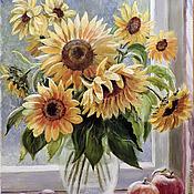 Картины и панно ручной работы. Ярмарка Мастеров - ручная работа Солнечное настроение. Handmade.
