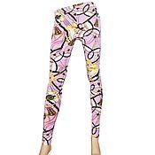 Винтаж handmade. Livemaster - original item size: 42, 44. Stylish pink leggings from ASOS.. Handmade.