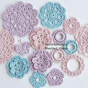 Материалы для творчества handmade. Livemaster - original item The set Sparkles knitted decor. Handmade.
