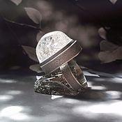 Украшения handmade. Livemaster - original item Quartz rutilated rutile ring