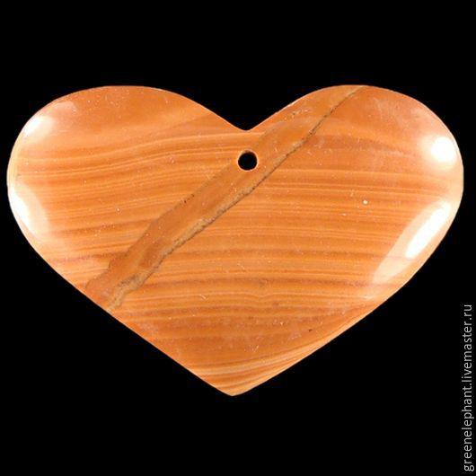 """Для украшений ручной работы. Ярмарка Мастеров - ручная работа. Купить Кулон """"Тайная любовь"""". Handmade. Рыжий, сердце, любовь"""