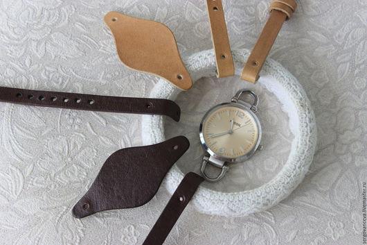Часы ручной работы. Ярмарка Мастеров - ручная работа. Купить Ремешок на ваши часы FOSSIL. Handmade. Бежевый, ремешок для часов