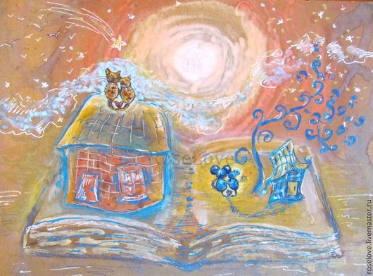 Картина `Кошки..мышки..История Любви..`))Катерины Аксеновой.