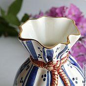 Для дома и интерьера handmade. Livemaster - original item Porcelain small vase. Handmade.