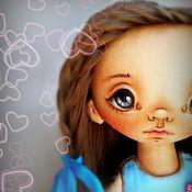 Куклы и игрушки ручной работы. Ярмарка Мастеров - ручная работа Папина радость. Кукла текстильная.. Handmade.