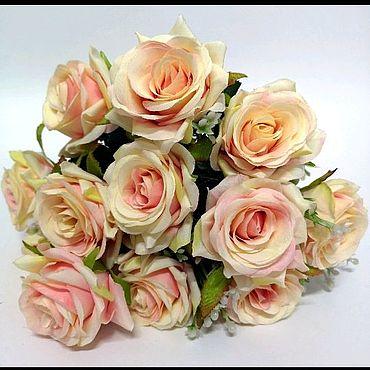 Материалы для творчества ручной работы. Ярмарка Мастеров - ручная работа Искусственные цветы розы острые. Handmade.