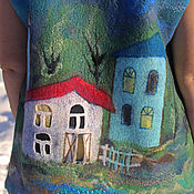 Одежда handmade. Livemaster - original item Vest felted