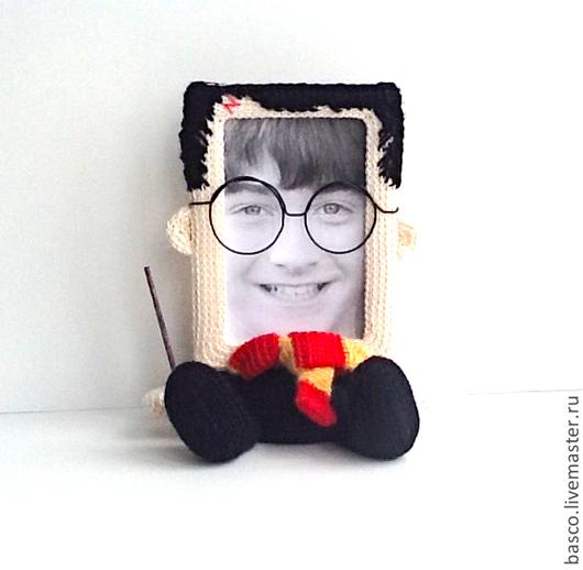 """Сказочные персонажи ручной работы. Ярмарка Мастеров - ручная работа. Купить Фоторамка """"Гарри Поттер"""". Handmade. Фоторамка, ребенку"""