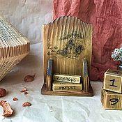 Канцелярские товары handmade. Livemaster - original item Calendars: Eternal calendar