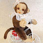 Куклы и игрушки ручной работы. Ярмарка Мастеров - ручная работа Обезьянка Мари.. Handmade.