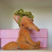 Куклы и игрушки ручной работы. Ярмарка Мастеров - ручная работа мини лисичка. Handmade.