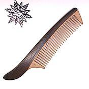 Сувениры и подарки handmade. Livemaster - original item Comb made of bog oak Sir. Handmade.