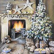 Картины и панно ручной работы. Ярмарка Мастеров - ручная работа Рождественское настроение. Handmade.