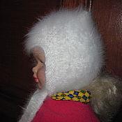 Работы для детей, ручной работы. Ярмарка Мастеров - ручная работа Шапочка из кроличьего пуха №03. Handmade.