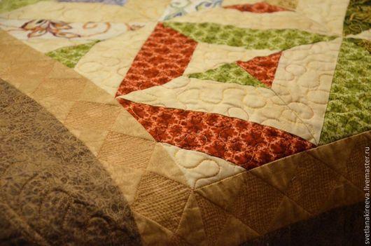 """Текстиль, ковры ручной работы. Ярмарка Мастеров - ручная работа. Купить Покрывало """"Нежность"""". Handmade. Коричневый, подарок на любой случай"""