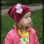 """Работы для детей, ручной работы. Ярмарка Мастеров - ручная работа Шапка для девочки """"Сова Конфетка"""". Handmade."""