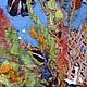 """Пейзаж ручной работы. Заказать Картина из шерсти """"Тайна Карибского моря"""". Макарова Оксана (sanzharka). Ярмарка Мастеров. Морское дно"""