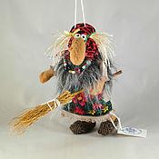 Куклы и игрушки ручной работы. Ярмарка Мастеров - ручная работа Копия работы Баба-Яга мини-5. Handmade.