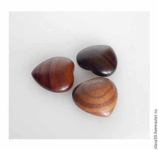 Кольца ручной работы. Ярмарка Мастеров - ручная работа. Купить Кабошоны из натурального дерева.. Handmade. Wooden jewelry, авторская работа