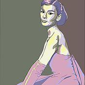 Иллюстрации ручной работы. Ярмарка Мастеров - ручная работа Иллюстрации: рисунок по фото. Handmade.