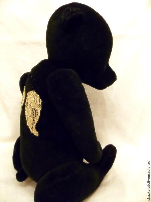 Мишки Тедди ручной работы. Ярмарка Мастеров - ручная работа. Купить Ангел добрых сновидений. Handmade. Черный, ангел