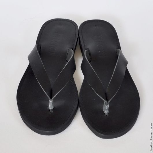 """Обувь ручной работы. Ярмарка Мастеров - ручная работа. Купить Кожаные сандалии """"ласточка"""". Handmade. Сандалии, черный, мужские сандалии"""