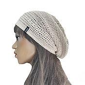 Аксессуары handmade. Livemaster - original item Knitted summer hat