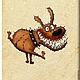 """Аксессуары для собак, ручной работы. Вет.паспорт """"Любимец"""" (кожа). Анастасия (sollisy). Ярмарка Мастеров. Кожаная обложка, домашние животные"""