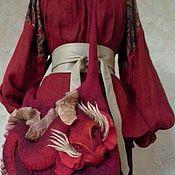 """Сумки и аксессуары ручной работы. Ярмарка Мастеров - ручная работа Сумочка """"Красный дракон!"""". Handmade."""