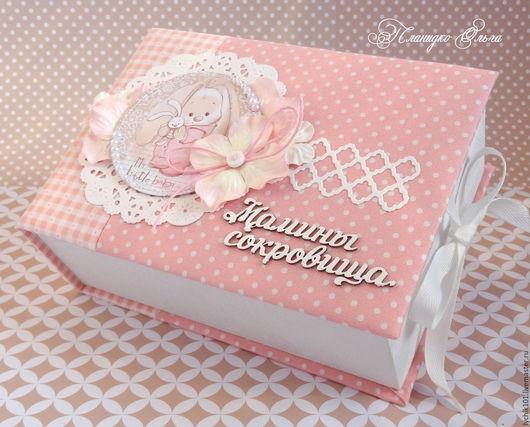 Подарки для новорожденных, ручной работы. Ярмарка Мастеров - ручная работа. Купить Мамины сокровища для девочки. Handmade. Мамины сокровища, вырубка