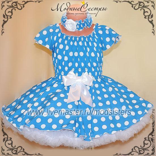 Baby dress 'Polka dot' Art.328, Childrens Dress, Nizhny Novgorod,  Фото №1