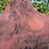 """Одежда ручной работы. Ярмарка Мастеров - ручная работа Платье из хлопкового трикотажа """"Scarlet  """", в эко стиле.. Handmade."""