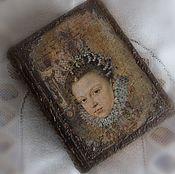 """Для дома и интерьера ручной работы. Ярмарка Мастеров - ручная работа Книга - шкатулка """"Старинный фолиант"""". Handmade."""