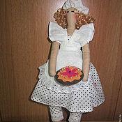 Куклы и игрушки handmade. Livemaster - original item Doll Tilda, chef Annie. Handmade.